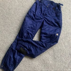 Vintage Descente High Waist Snow Pants Women's 12